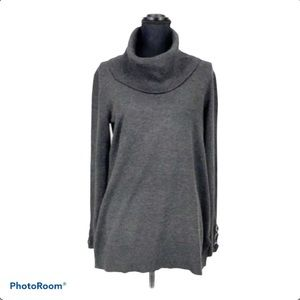 Spense turtleneck long sleeve tunic sweater